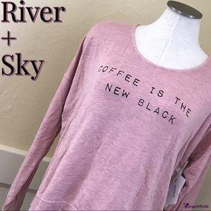 River + Sky